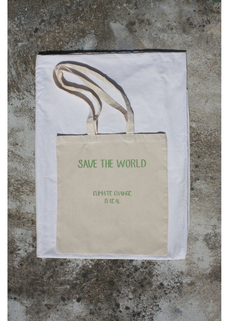Tote Bag Save The World