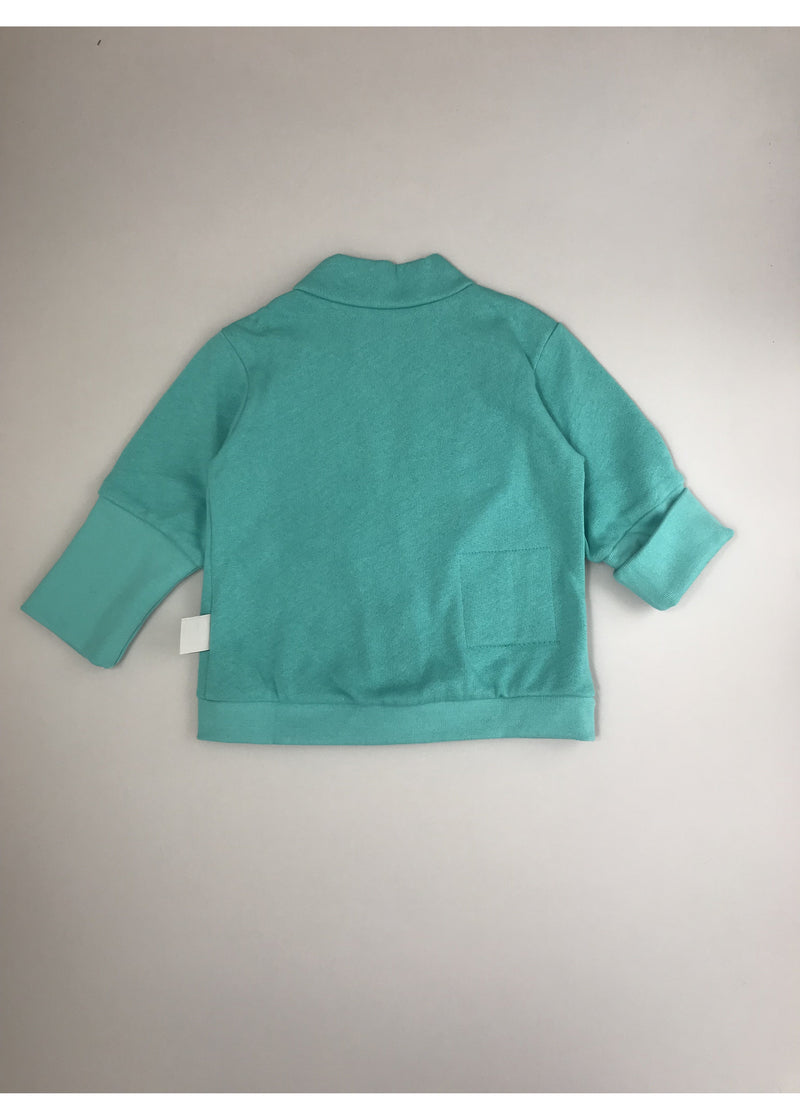 BB long sleeve green cardigan