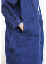 Jacket Blue Denim Small Pockets