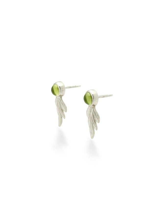 Caesar Leaf Earrings - Baizik
