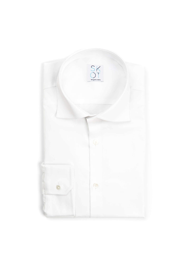 Sustainable Shirt Serious White Oxford