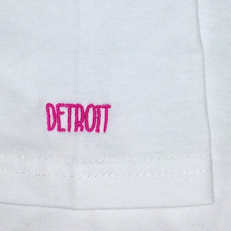 Detroit white t-shirt