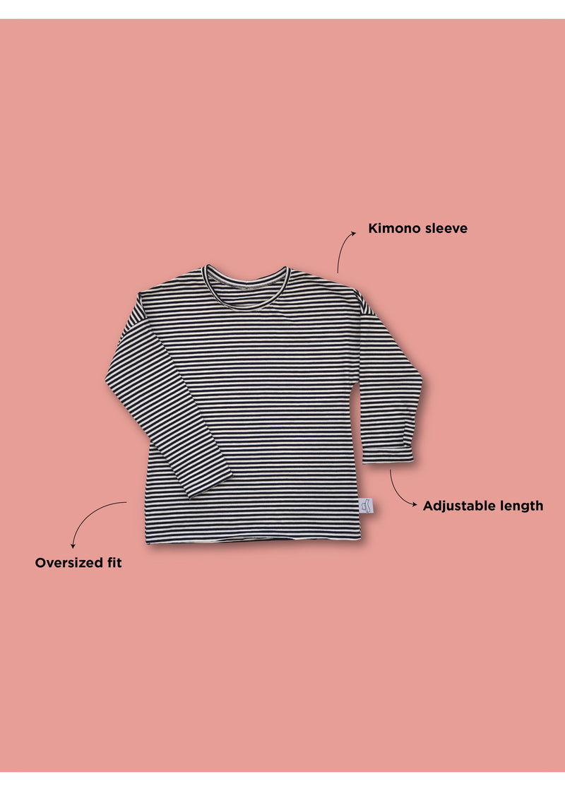 GP long sleeve striped tee