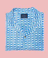 Blue Diamonds Short Sleeve Shirt