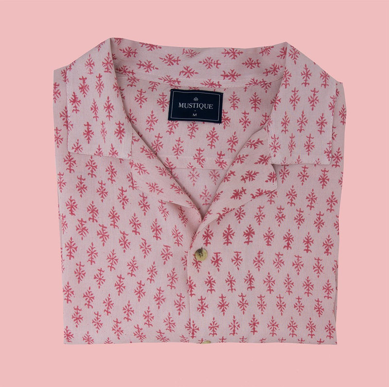 Pink on Pink Short Sleeve Shirt