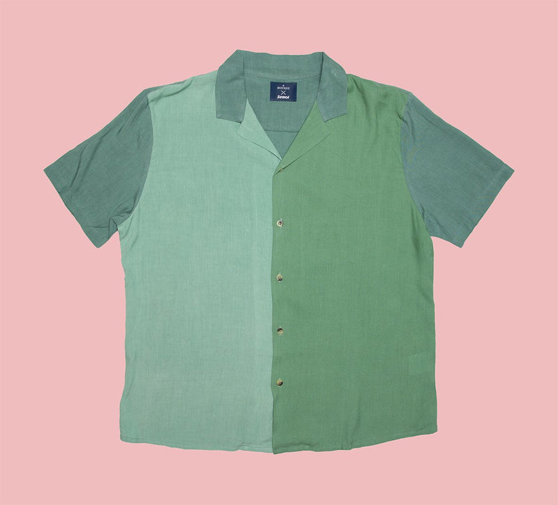 Sumol x Mustique - Vintage Colour Block Short Sleeve Shirt