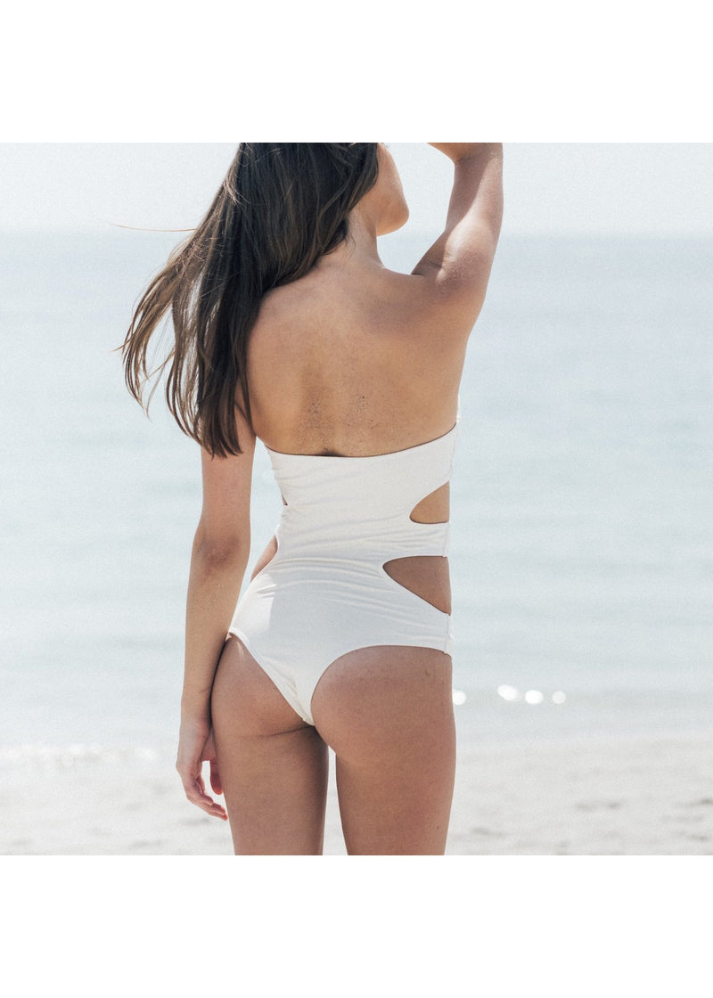 Dunes One Piece Swimsuit in Raw