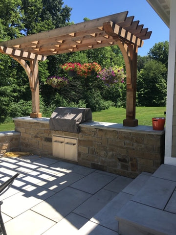 Pergola Grill Station Indy Grills and Outdoor Living