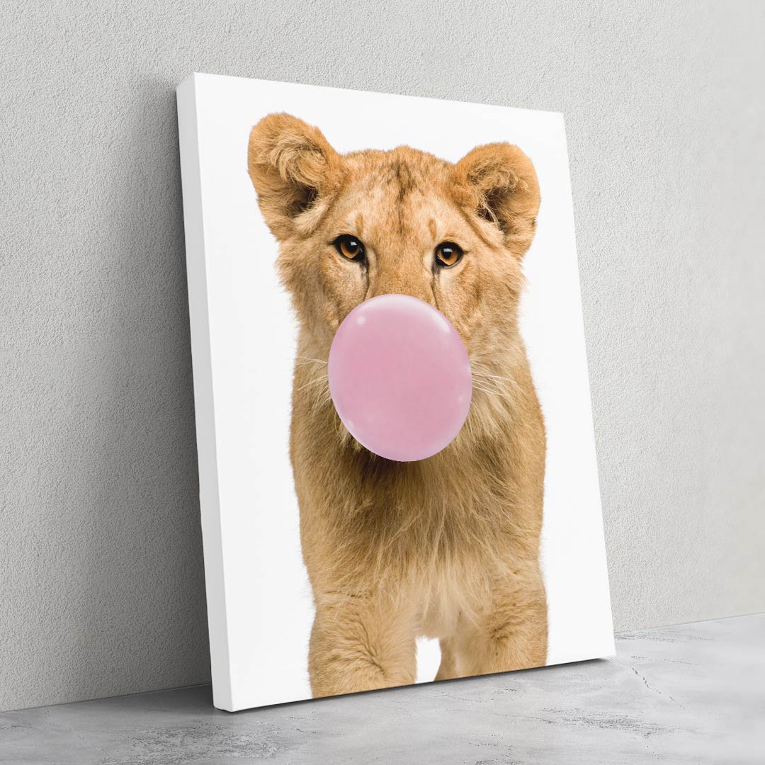 Lion Bubble Gum - MoodCanvas