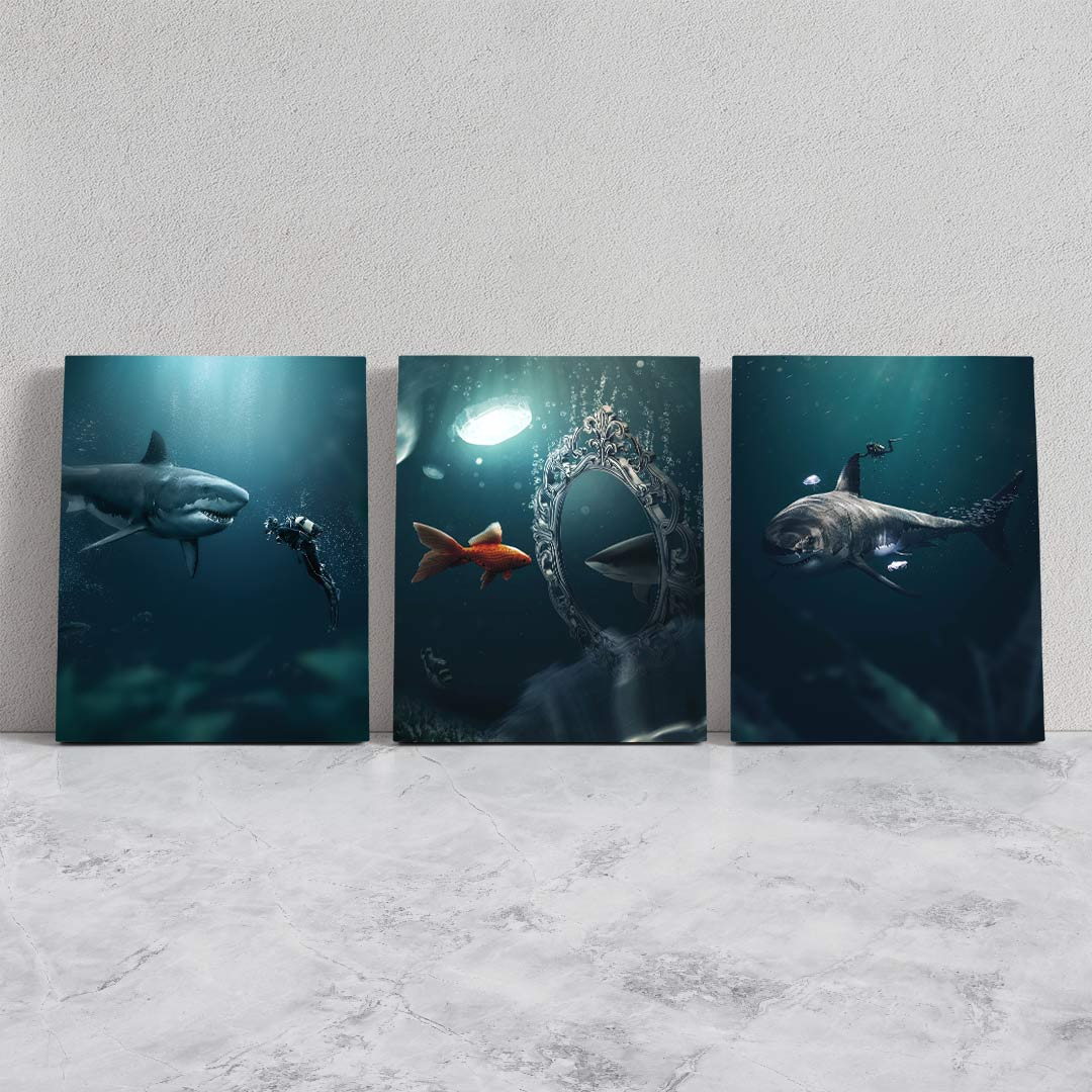 Shark Bundle - MoodCanvas