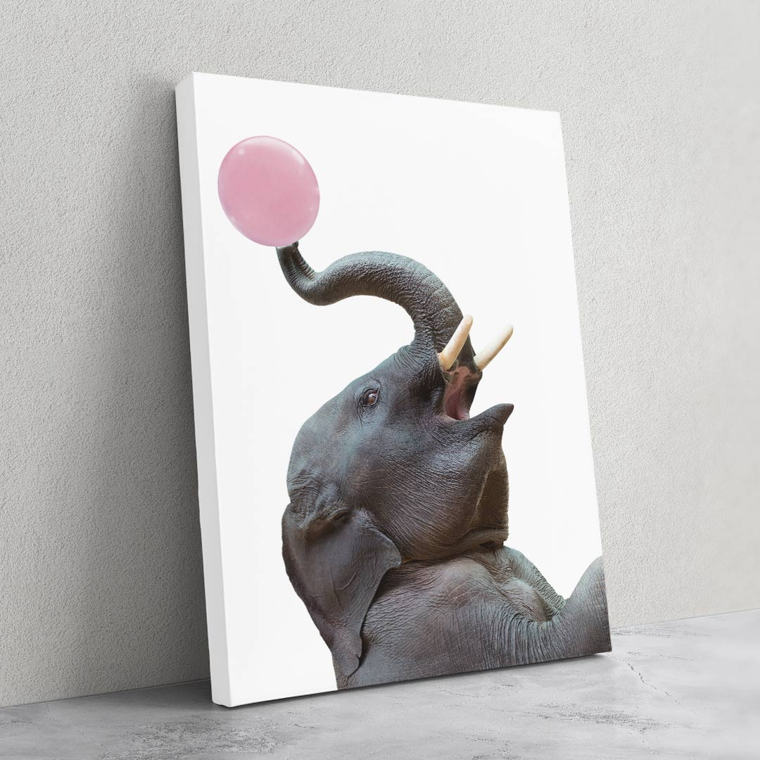 Elephant Bubble Gum - MoodCanvas