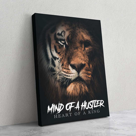 Mind of a Hustler - MoodCanvas