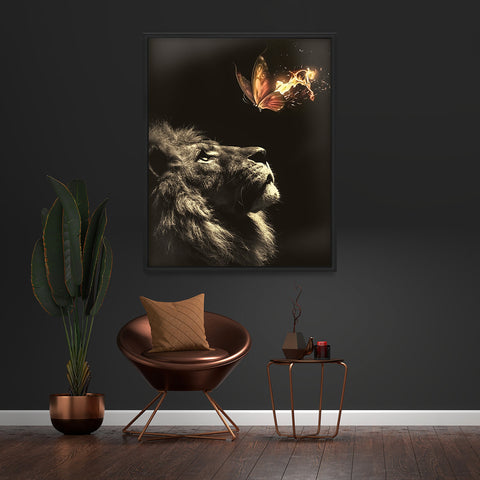 Burning Butterfly - MoodCanvas