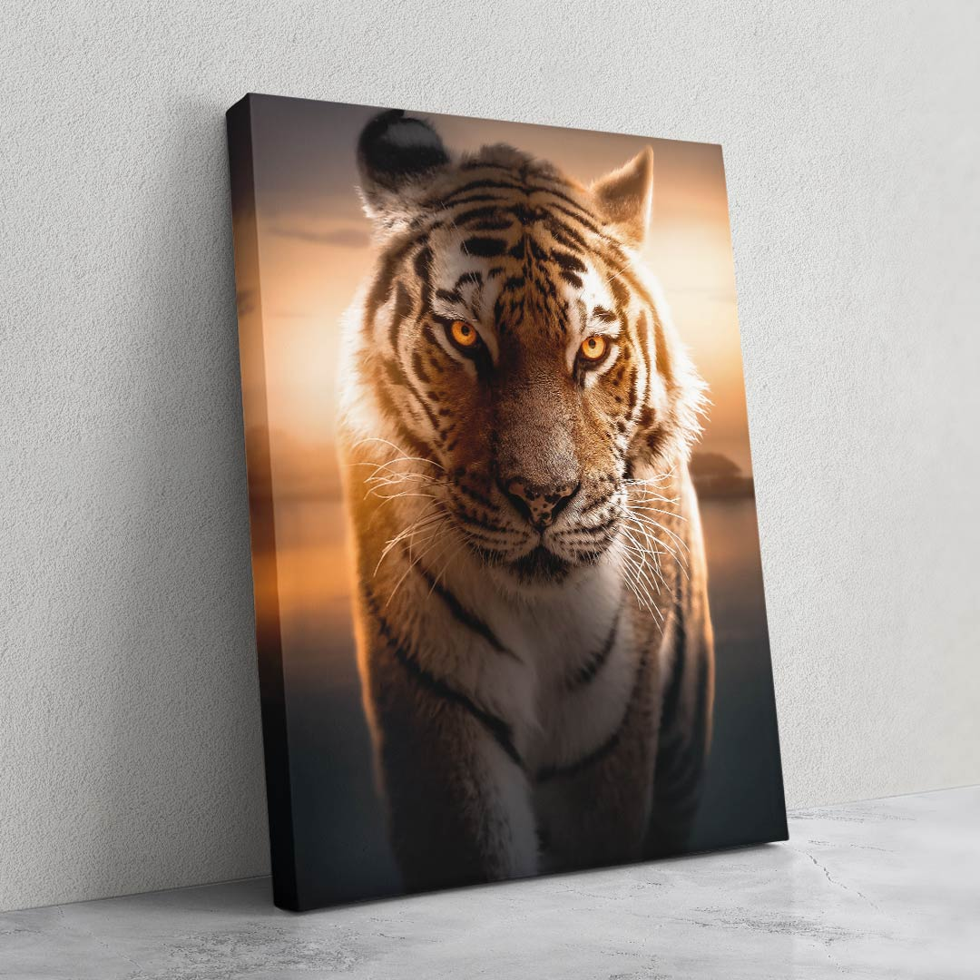 Tiger Portrait - MoodCanvas