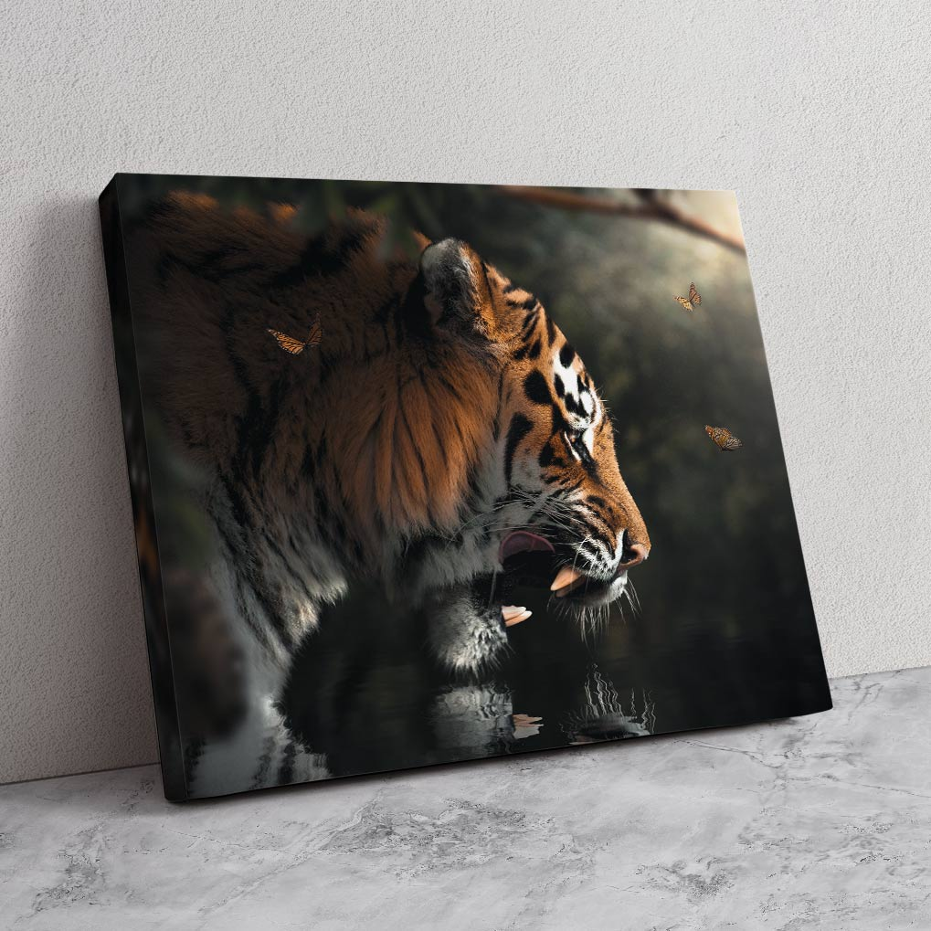 Majestic Tiger - MoodCanvas