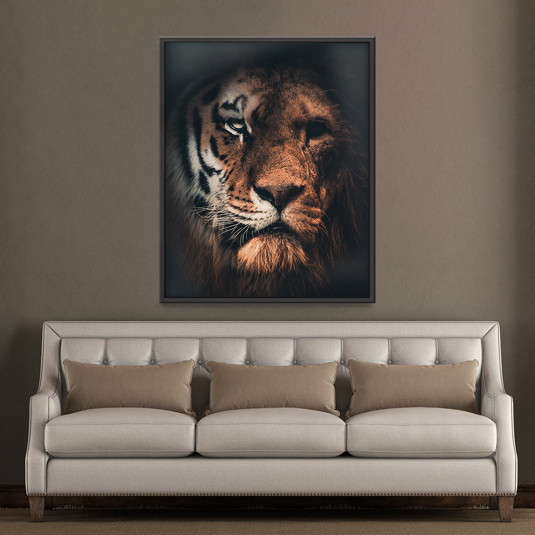 Tiger Lion - MoodCanvas