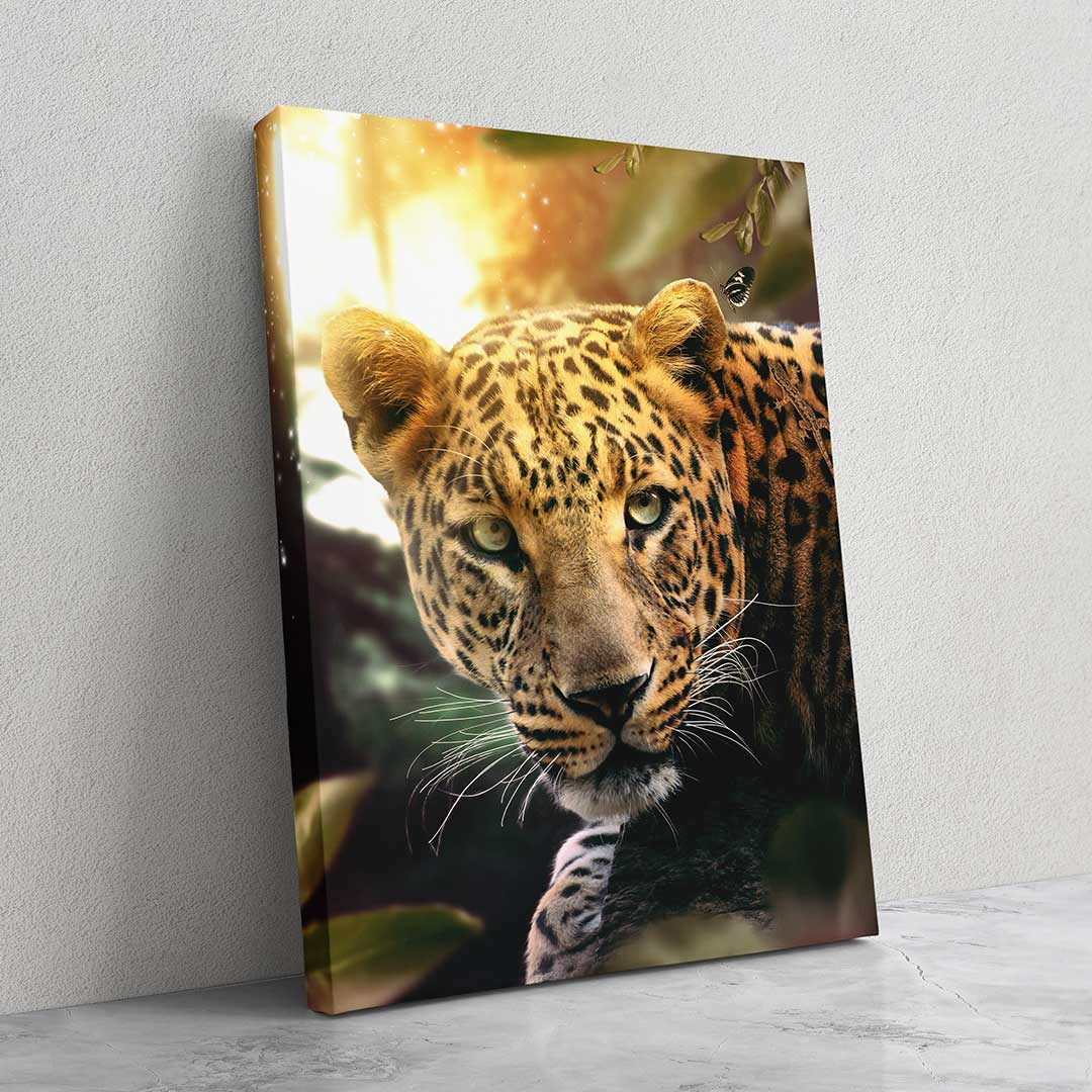 Sunset Leopard