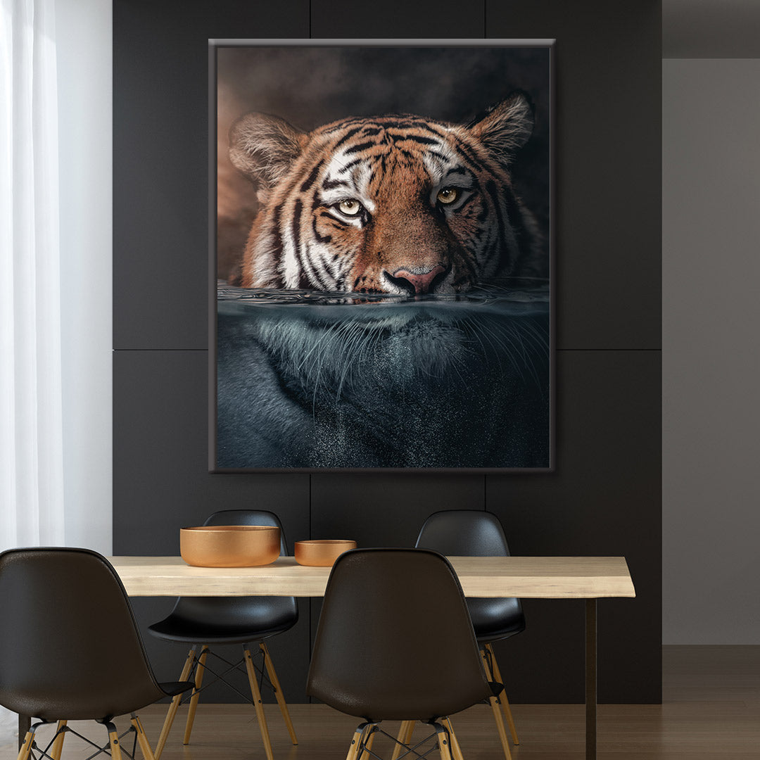 Underwater Tiger - MoodCanvas