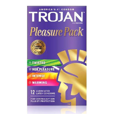 Trojan Pleasure Pack (12)