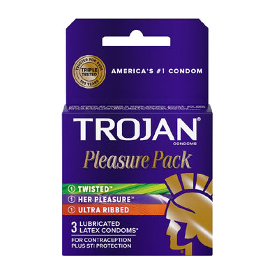 Trojan Pleasure Pack (3)