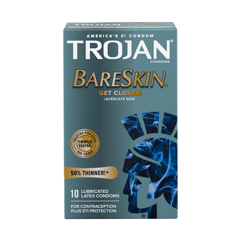 Trojan Bare Skin Lubricated (10)