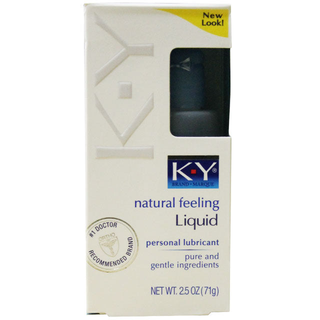 K-Y Natural Feeling Liquid 2.5oz