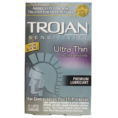 Trojan Ultra Thin Vertical Pack (12)