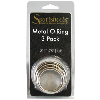 SS Metal O-Ring 3 Pack