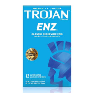 Trojan Enz Lubricated (12)