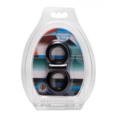 Trinity for Men Vibrating Dual Cock Ring