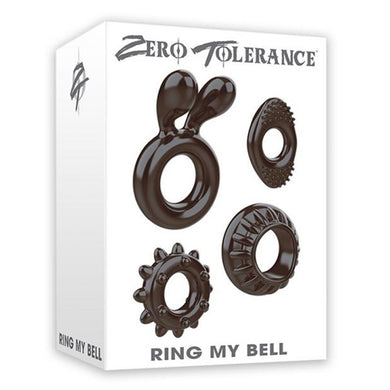 ZT Ring My Bell Cock Ring Set (4/per)