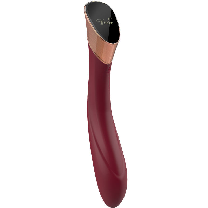 Fallen City Touch Panel G-Spot Vibrator in Wine