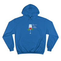 Dreaming of a Wine Christmas Champion Hoodie