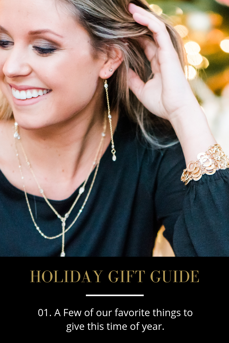 Holiday Gift Guide by Few Made Jewelry