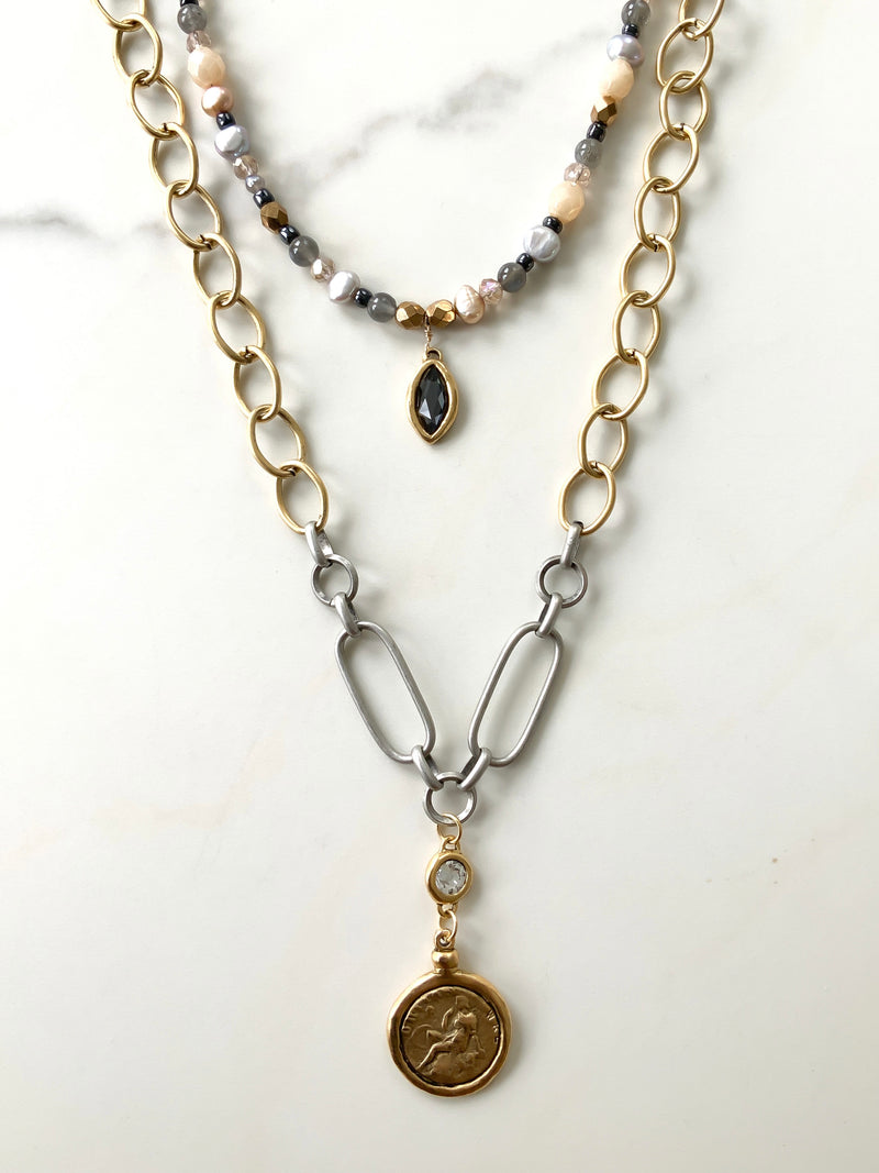 United Coin Necklace