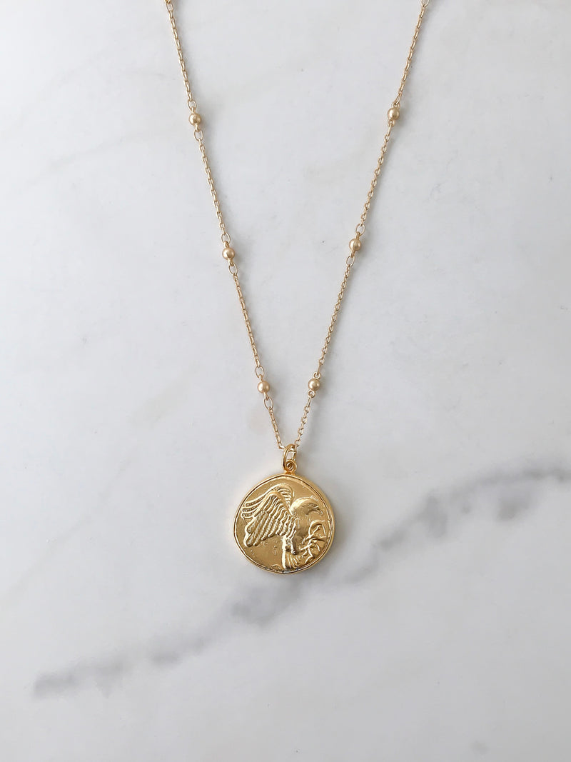 The Olympia Coin Necklace