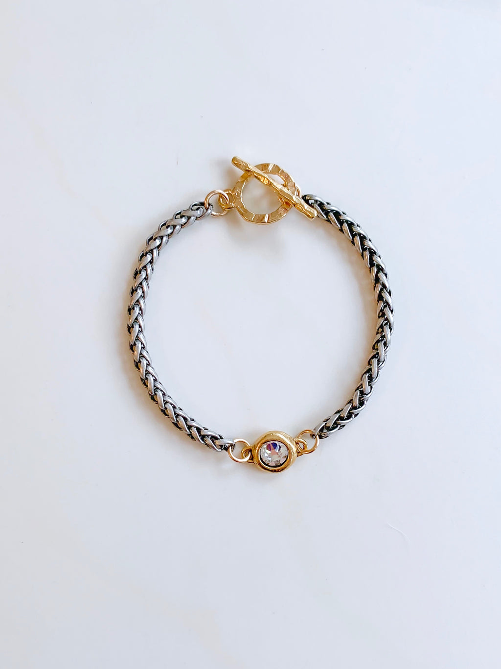 Harmony Gold and Black Bracelet