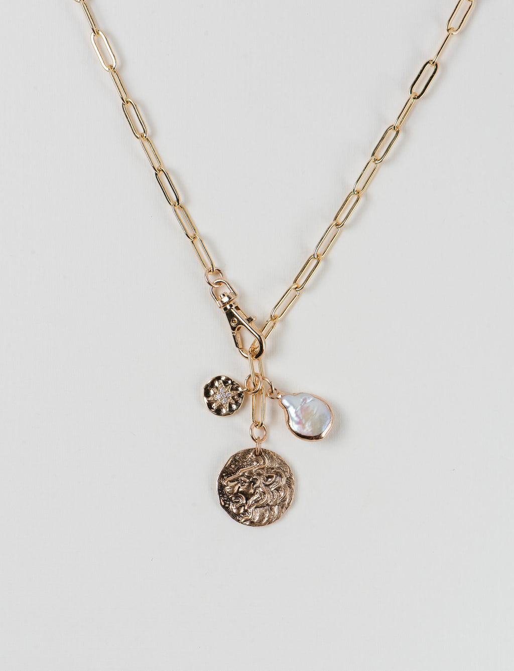 The Lions Roar Necklace
