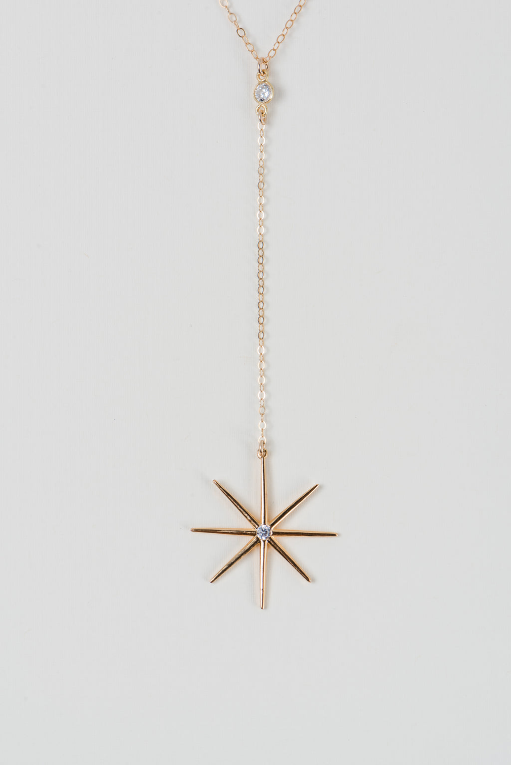 Starburst Gold Necklace