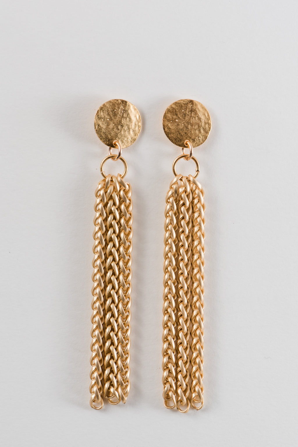 Sweep Me Away Tassel Earrings by Few Made