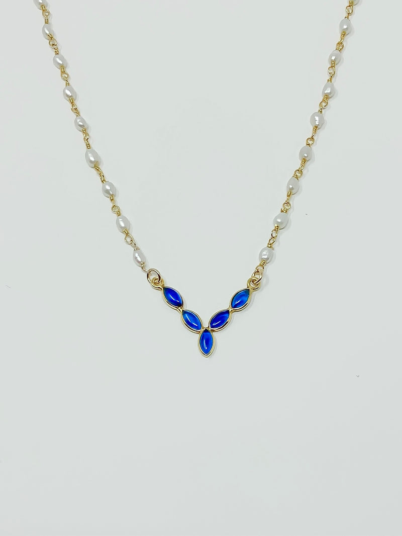 Blue By You Pearl Necklace