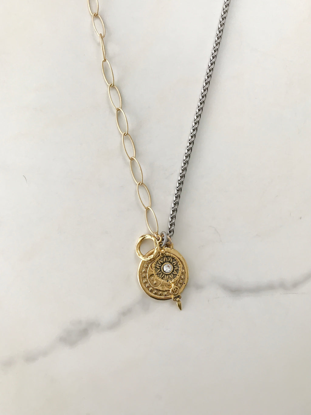 The Strength Coin Necklace