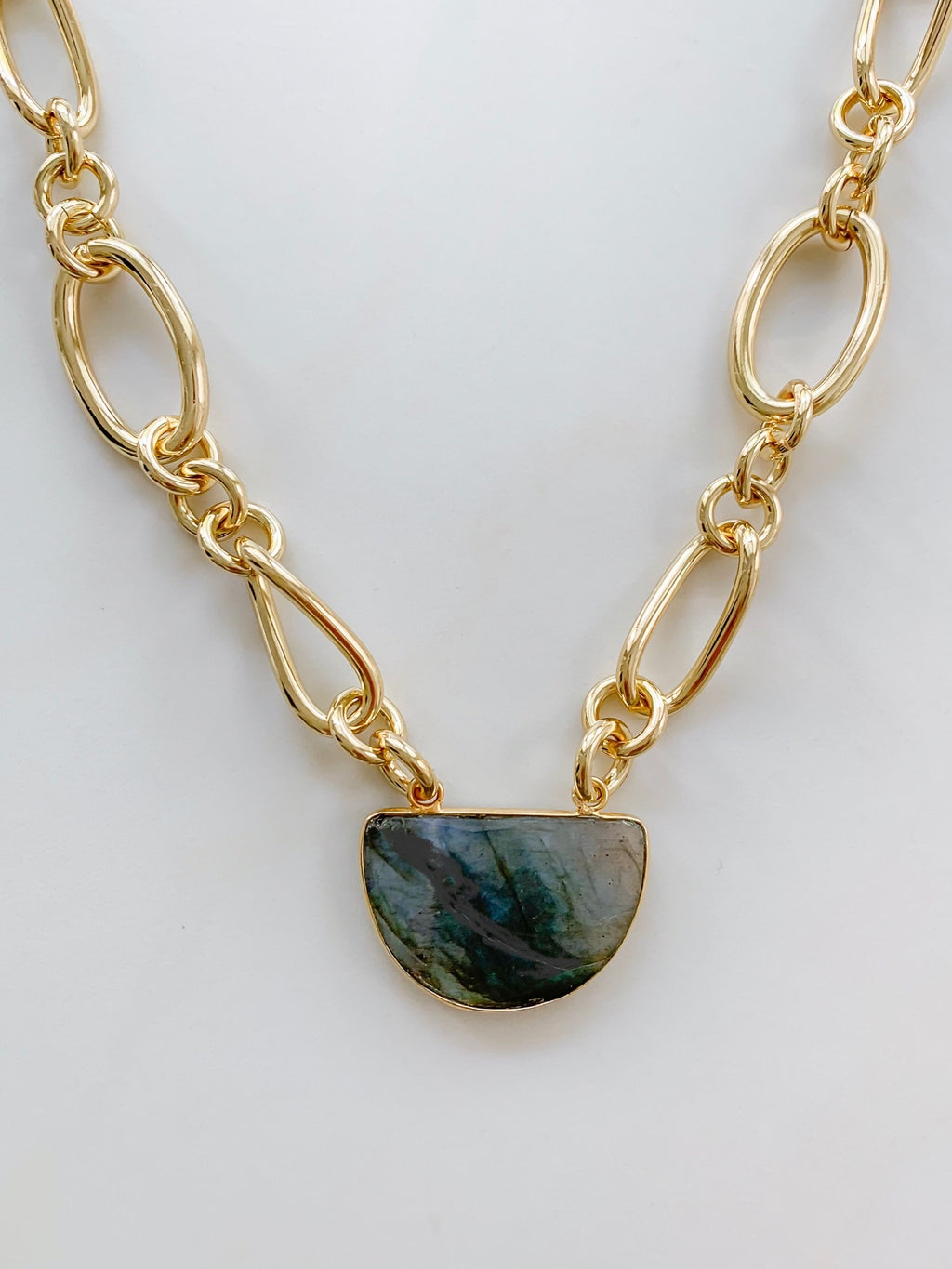 Lady Labradorite Necklace