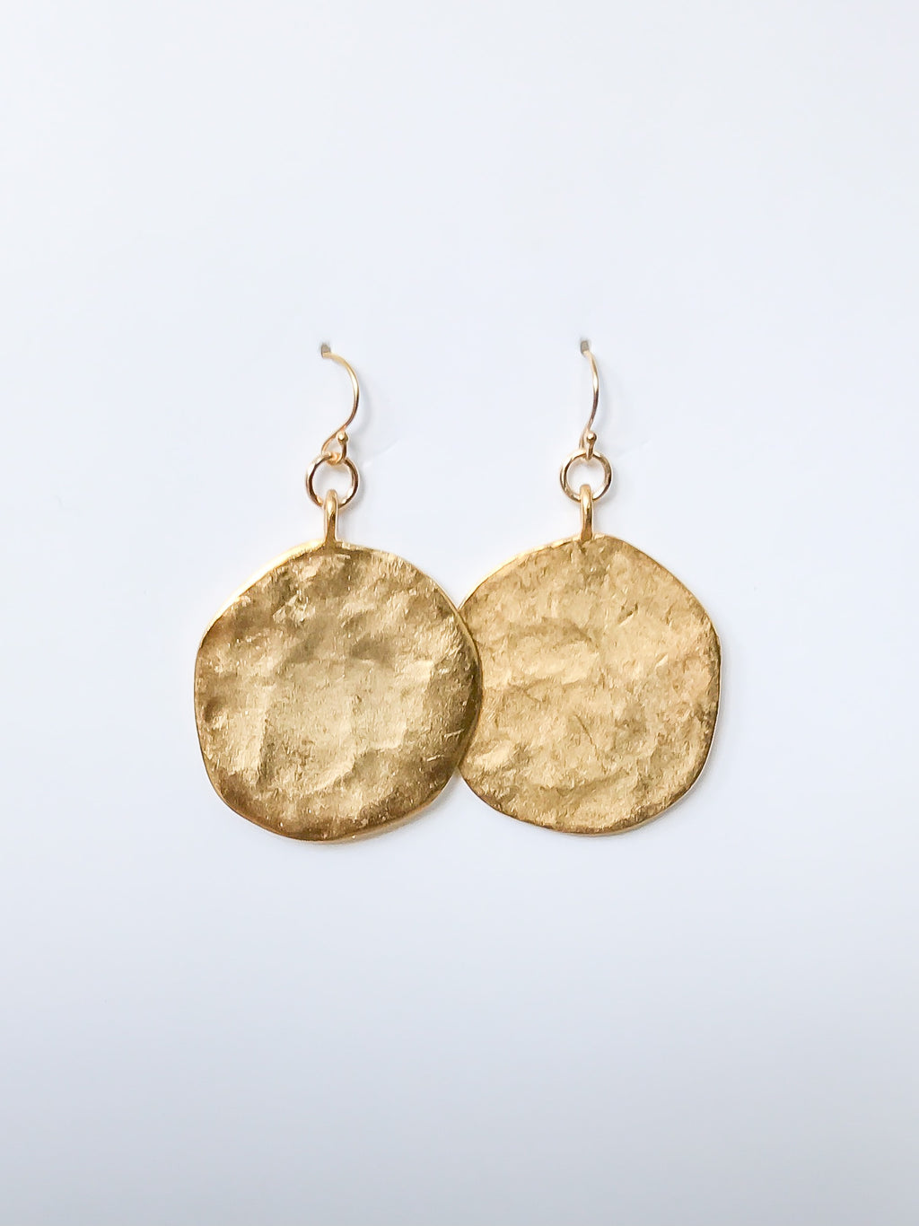 Going Around Disk Earrings
