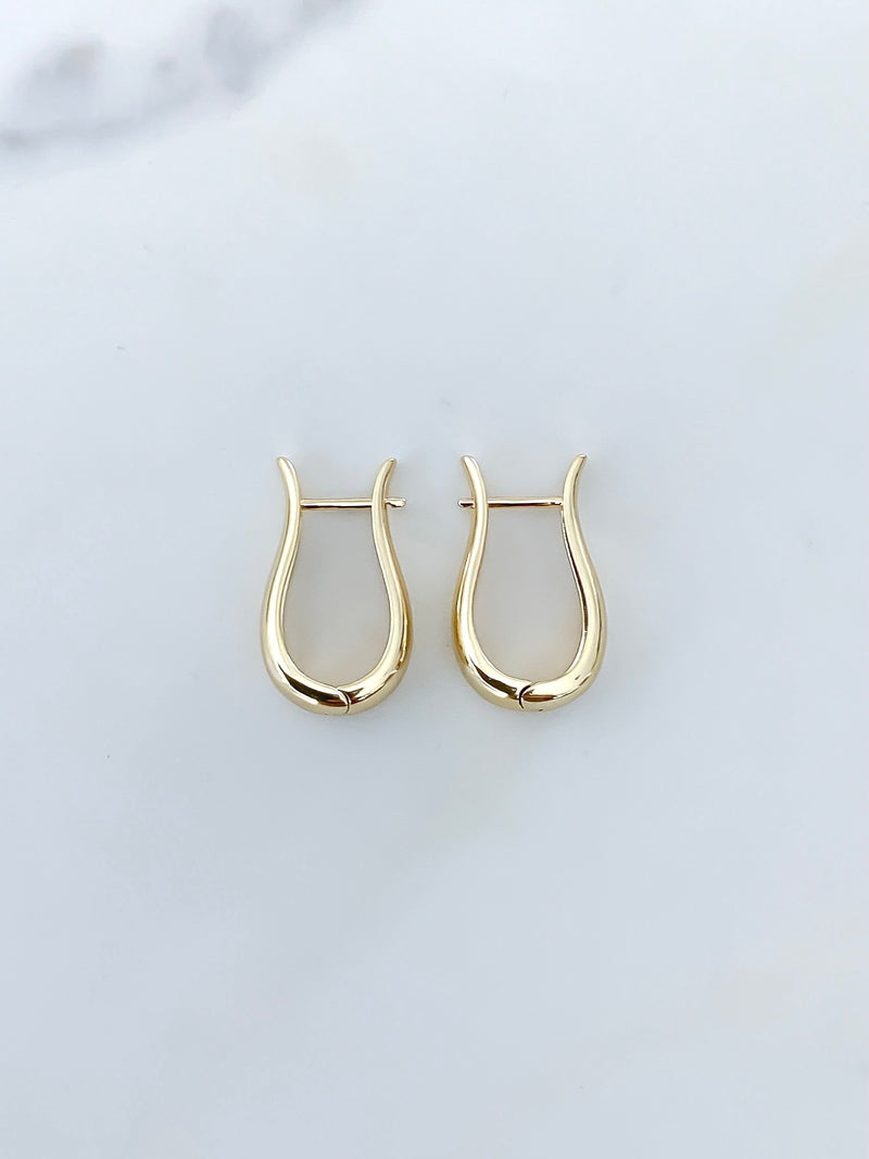 The Harness Gold Earrings