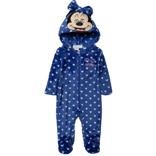 Mickey Mouse fleece onesie