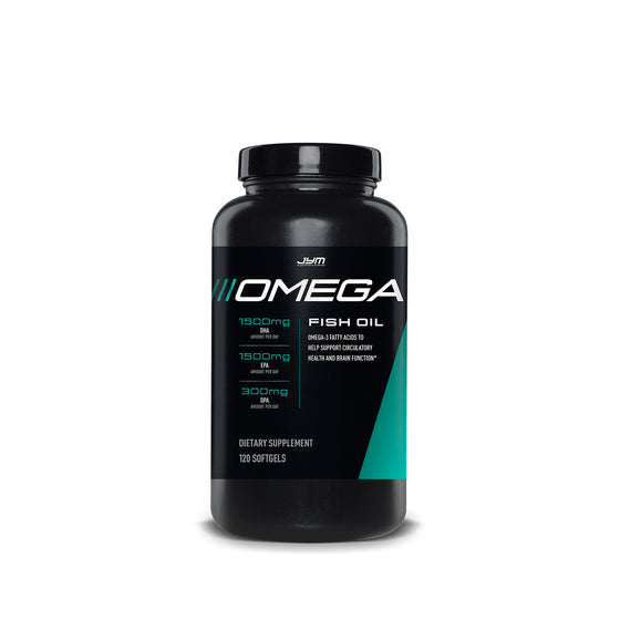JYM Omega Fish Oil 120 Caps