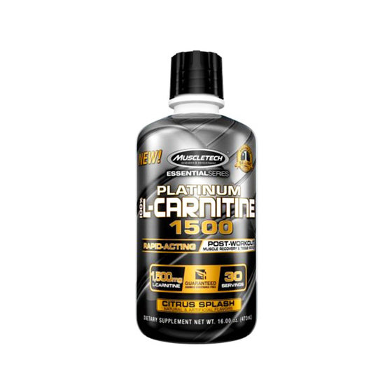MT Platinum 100% L-Carnitine 1500 16oz
