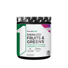 Rule 1 Energized Fruits & Greens