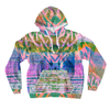 All-Over Print Pullover Hoodies